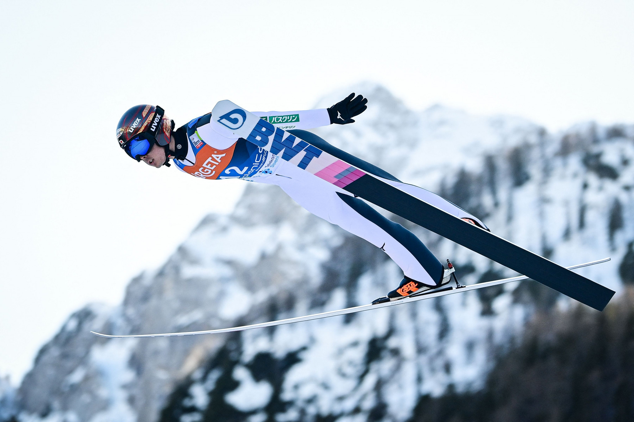 Ryōyū Kobayashi has been a podium finisher at four of the last five World Cup legs ©Getty Images