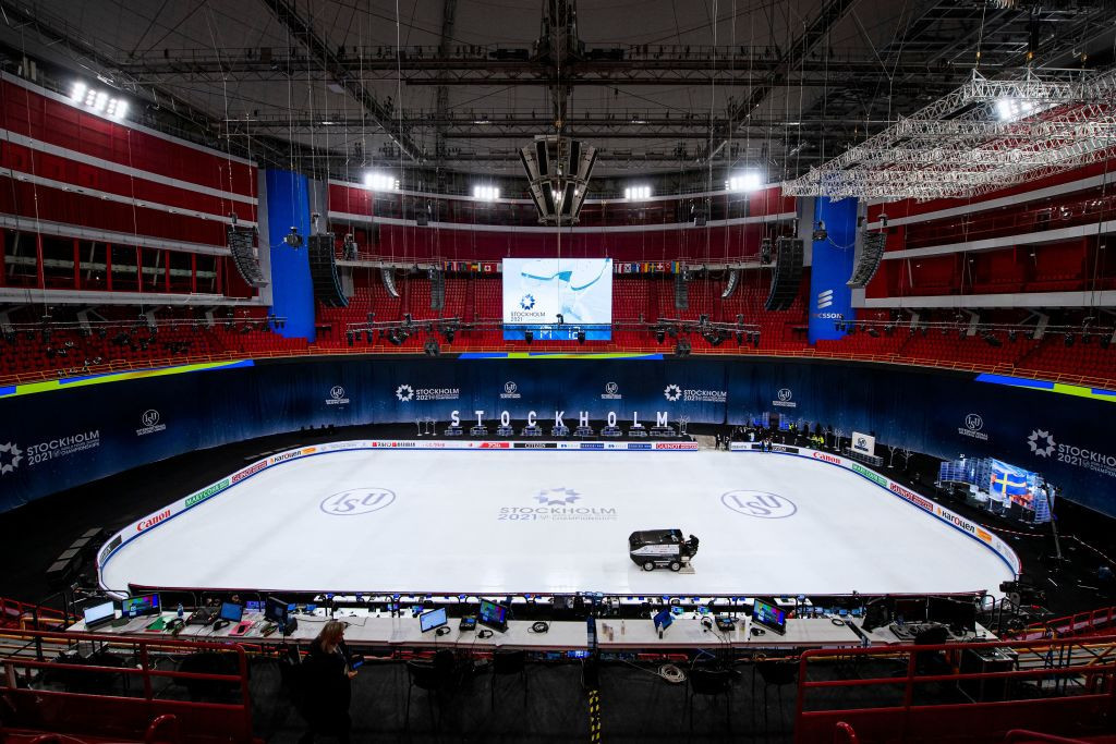 The ISU has confirmed another positive test for COVID-19 at the World Championships ©Getty Images
