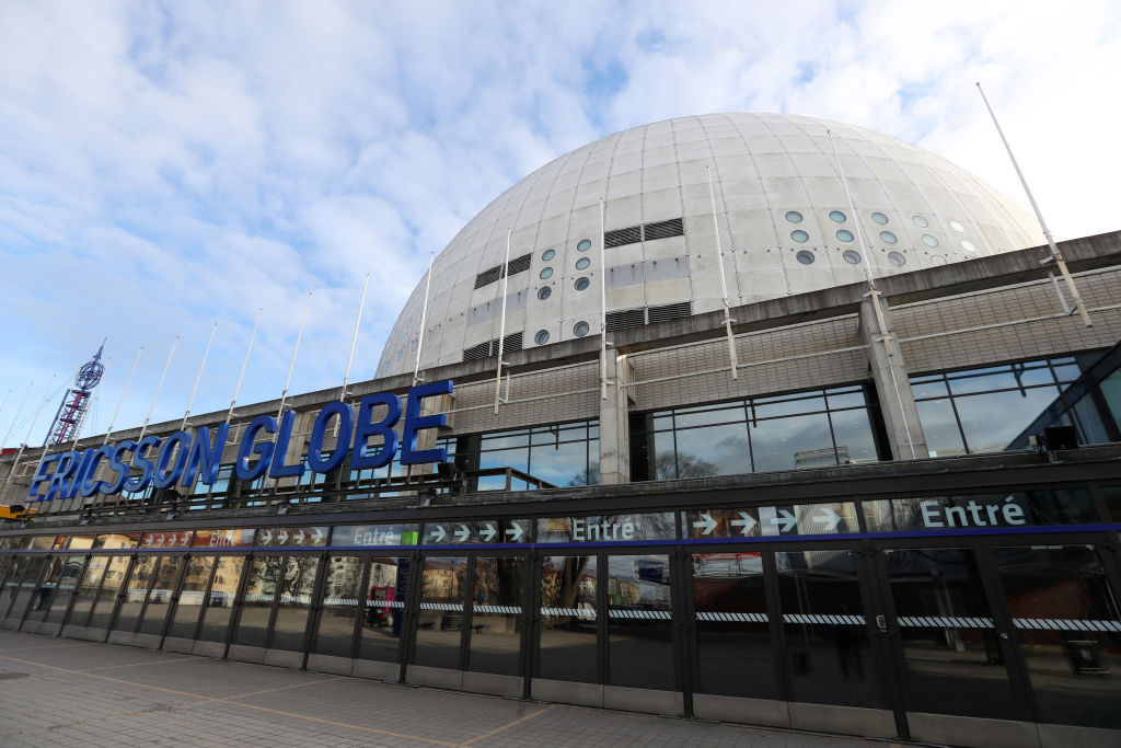 The event is taking place at the Ericsson Globe in the Swedish capital ©Getty Images