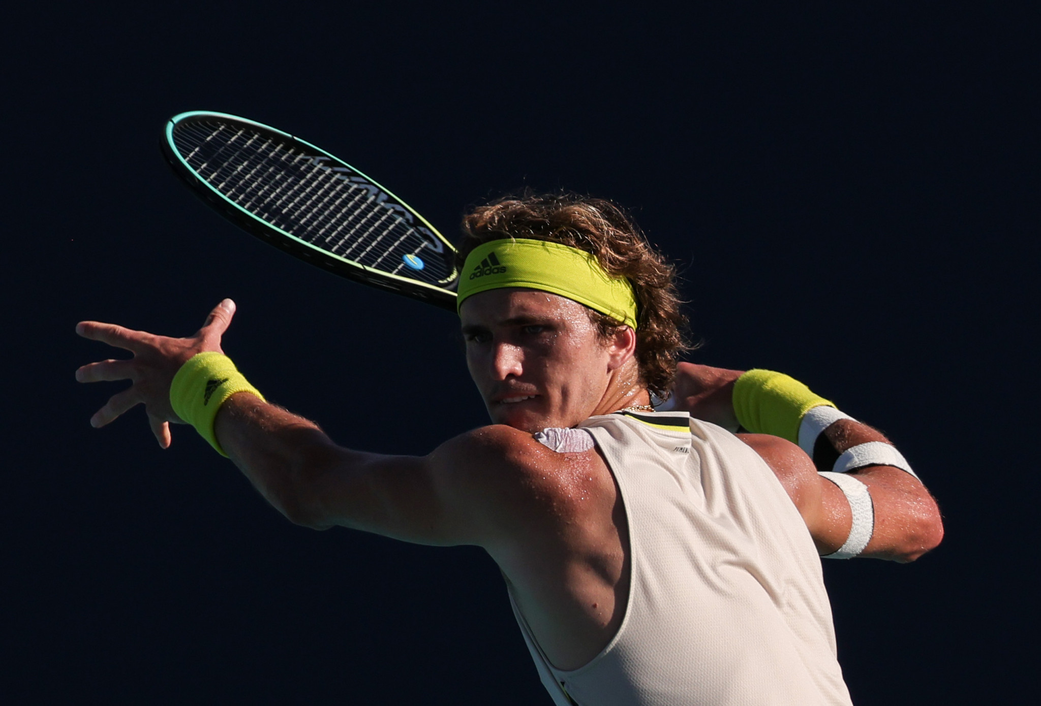 Alexander Zverev has been knocked out in the second round of the Miami Open ©Getty Images