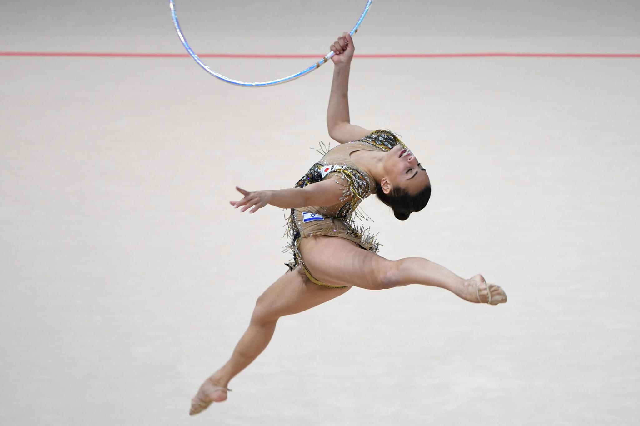 Ashram wins individual all-around title at FIG Rhythmic Gymnastics World Cup in Sofia