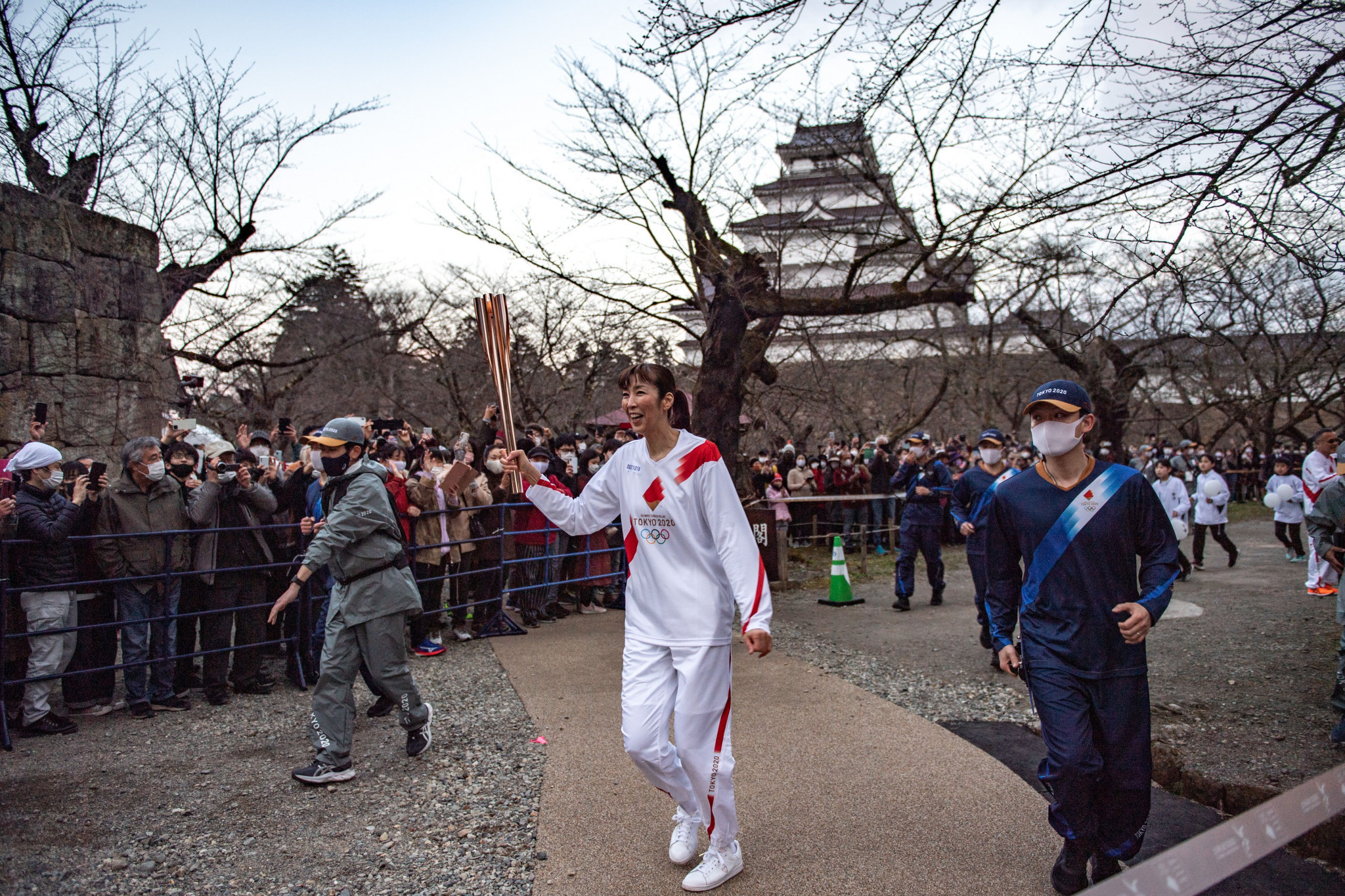The Tokyo 2020 Torch Relay has begun before this year's rearranged Olympic Games ©Getty Images