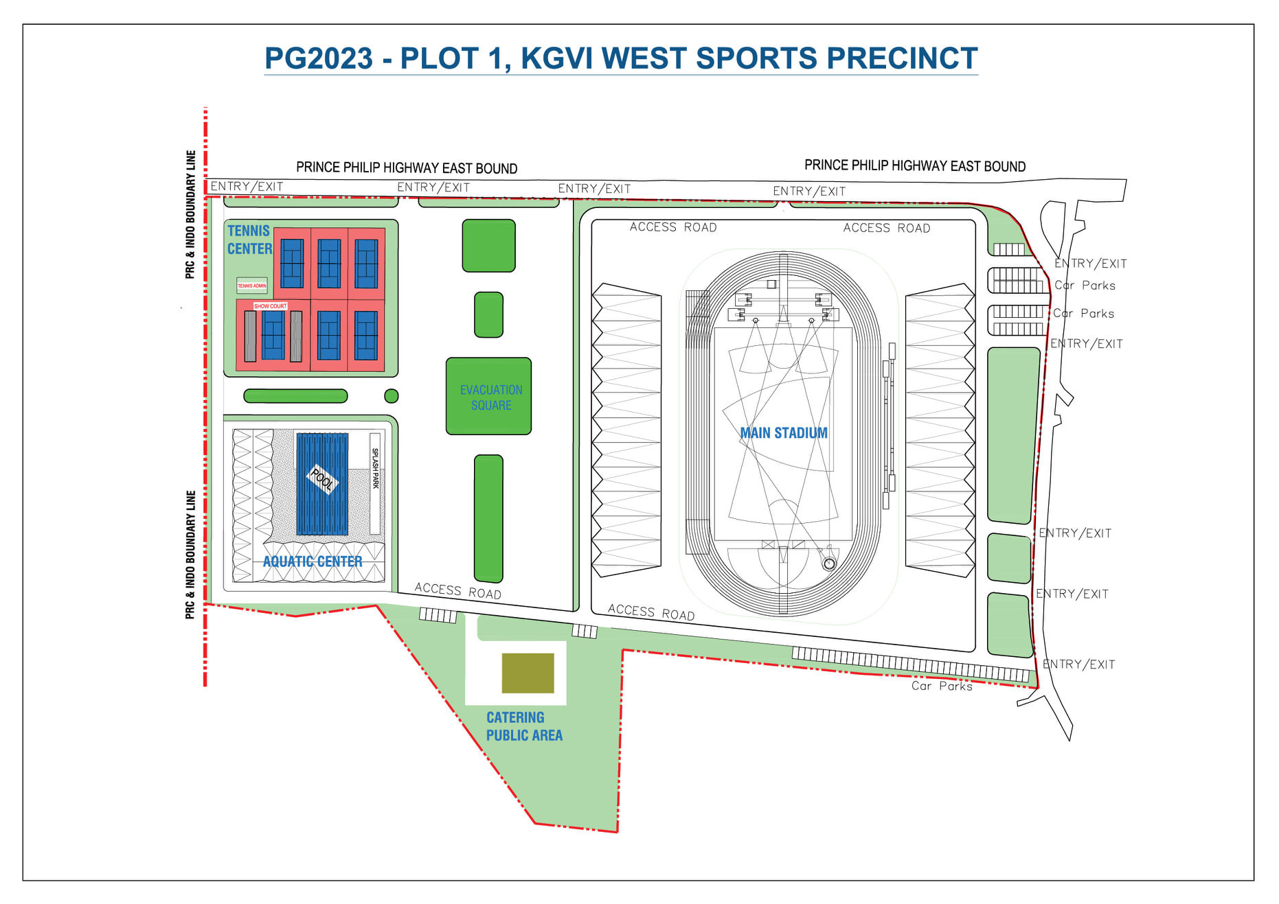 The new 10,000-capacity stadium will be the centrepiece of the 2023 Pacific Games in Honiara ©Solomon Islands 2023