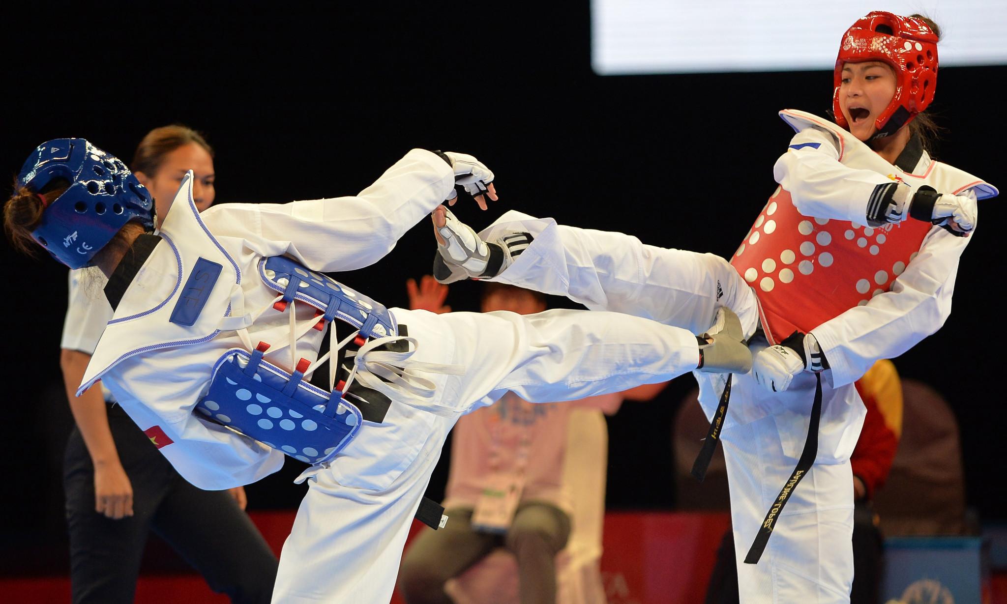 Filipino taekwondo star Lopez part of legacy campaign for children