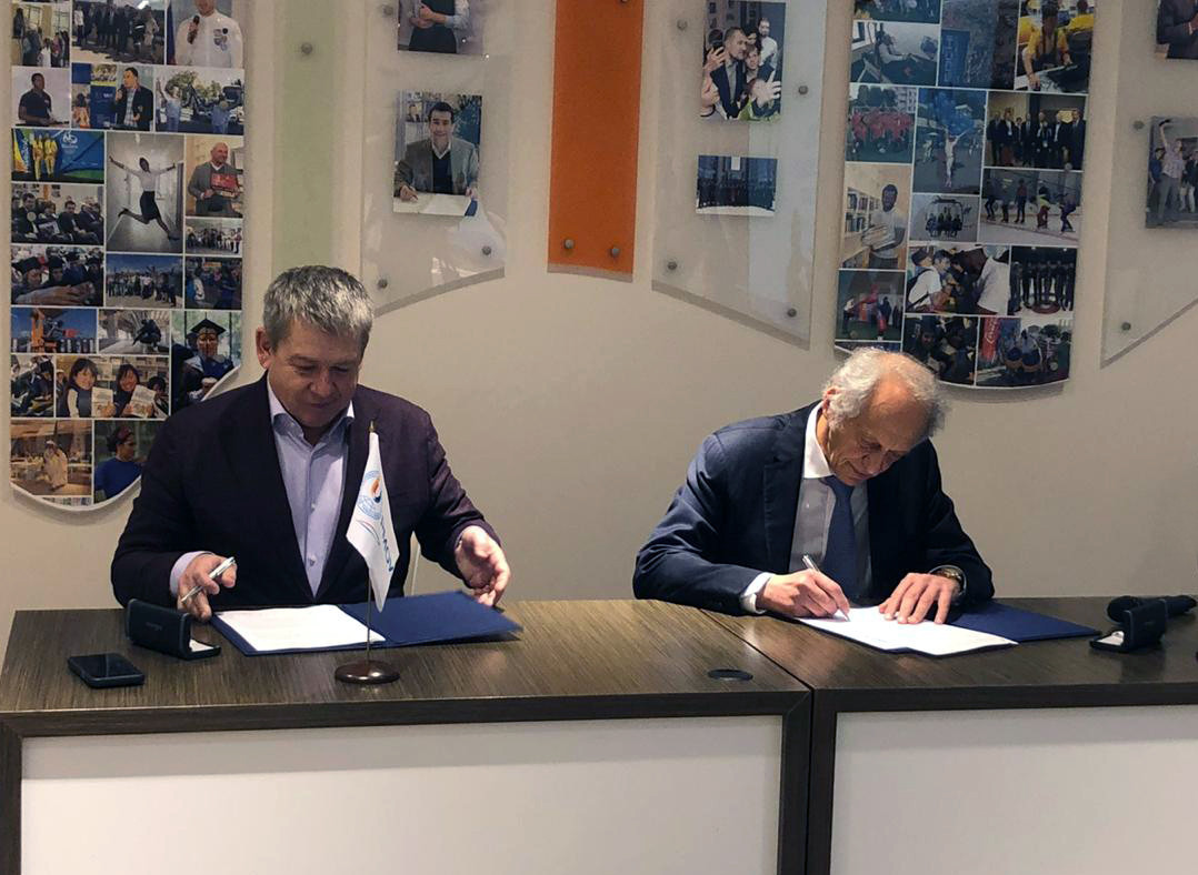 Russian International Olympic University and Yekaterinburg 2023 sign cooperation agreement