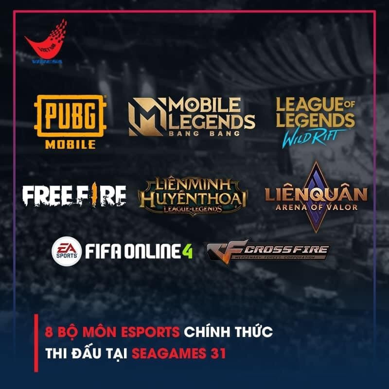VIRESA has announced the 10 esports competitions that are due to take place at next year's SEA Games ©VIRESA