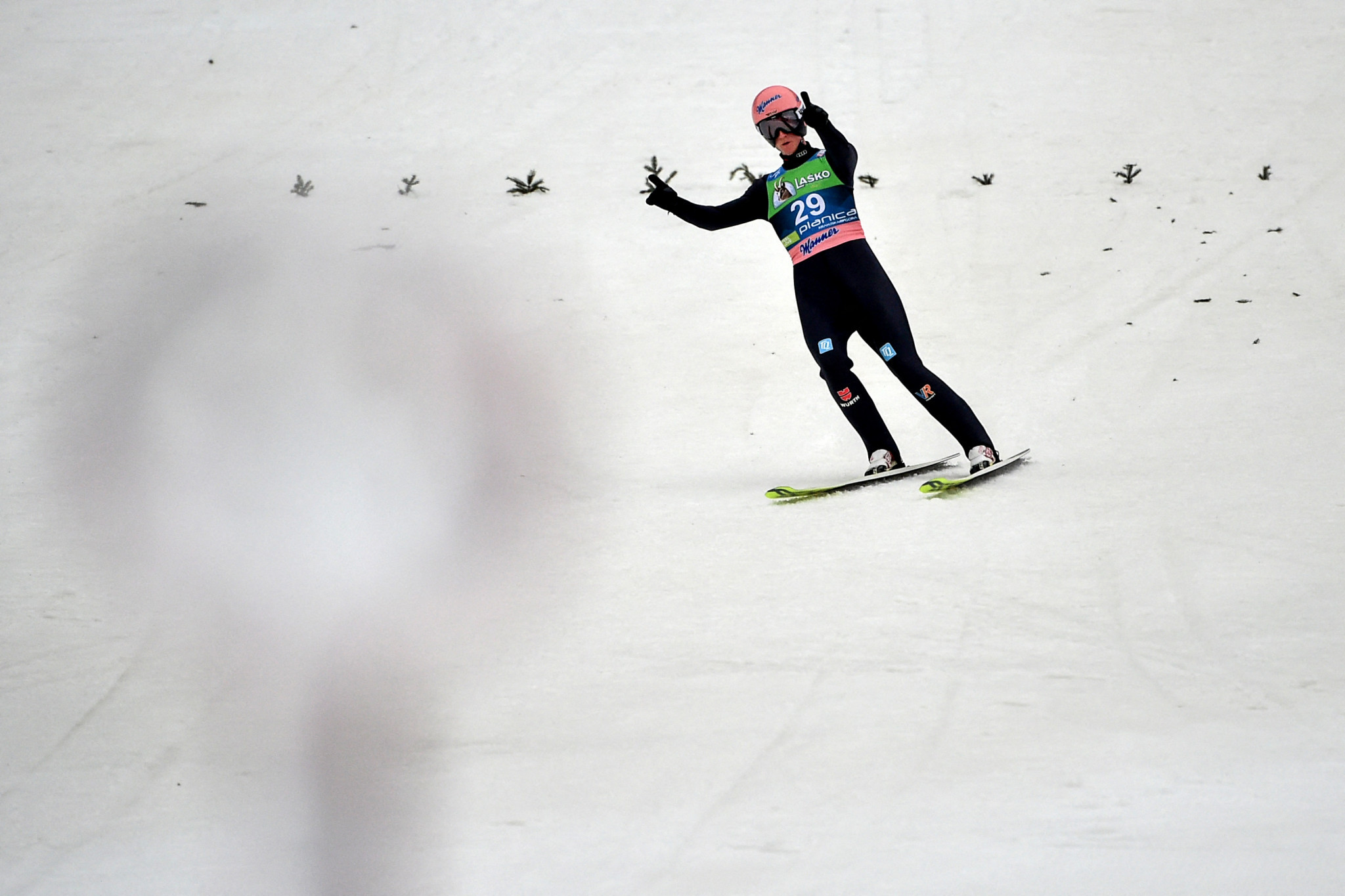 Geiger enjoys team and individual success as FIS Men's Ski Jumping World Cup concludes in Planica