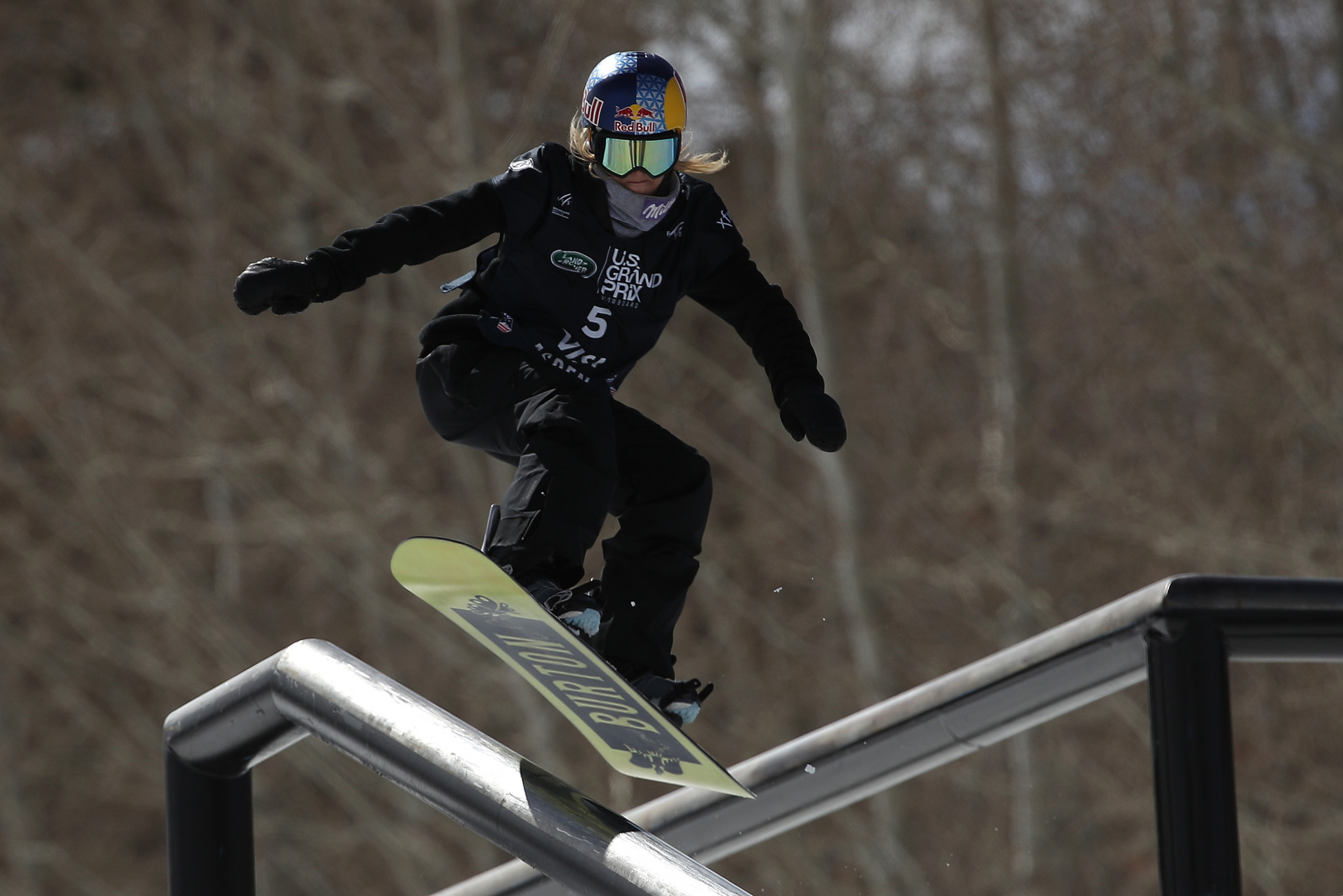 Anna Gasser claimed the women's overall slopestyle World Cup title in Silvaplana after finishing fourth ©Getty Images