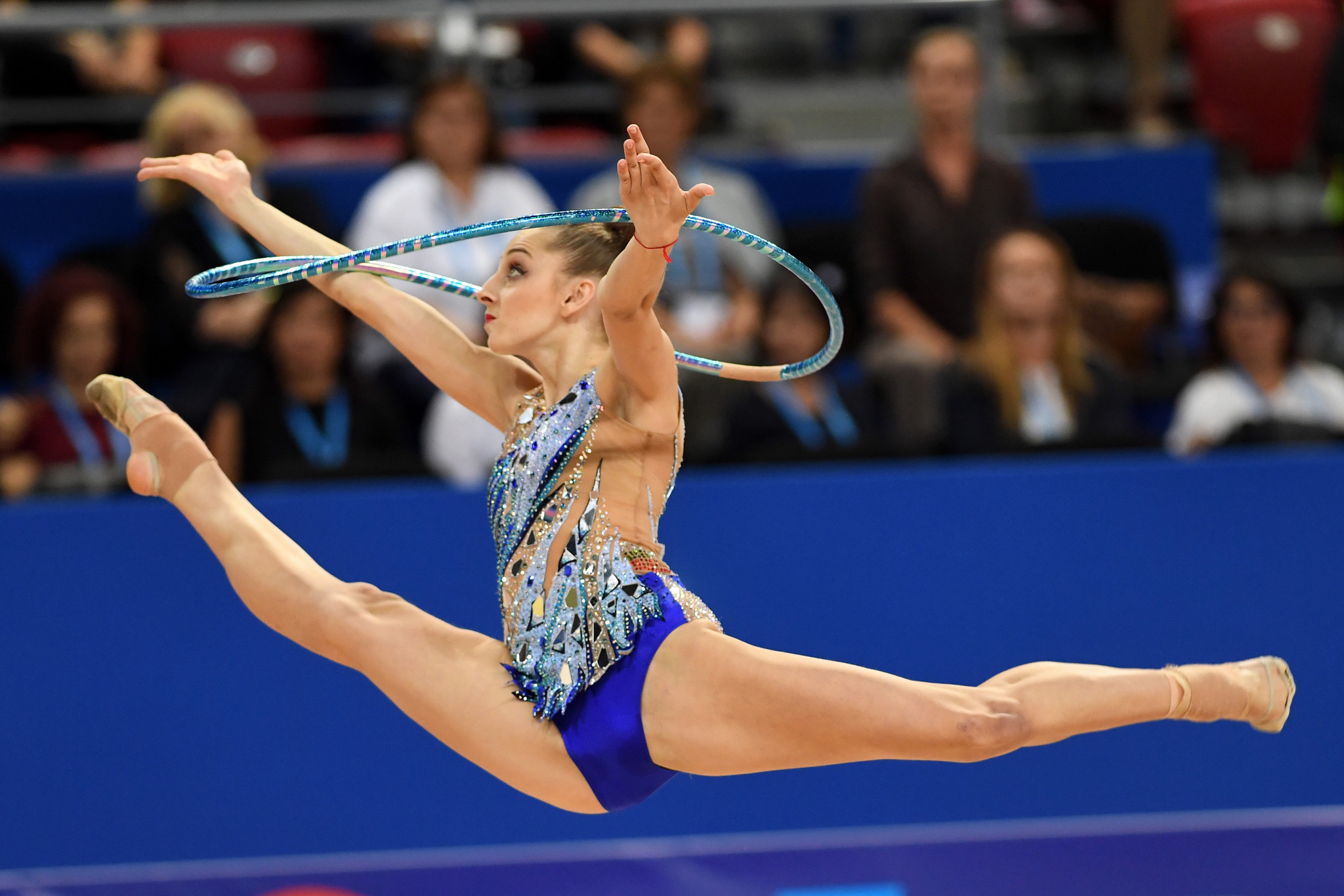 Boryana Kaleyn earned her first three World Cup titles in Sofia ©Getty Images