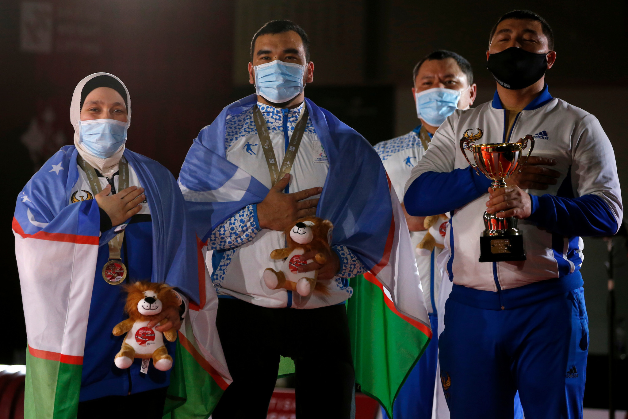 Nigeria end Manchester Para Powerlifting World Cup with 10 gold medals