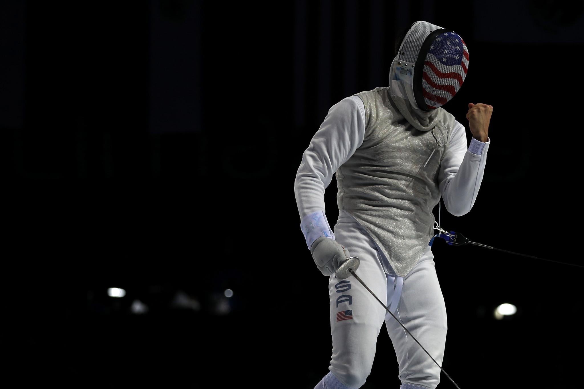 Meinhardt and Deriglazova win foil titles at Fencing Grand Prix of Qatar