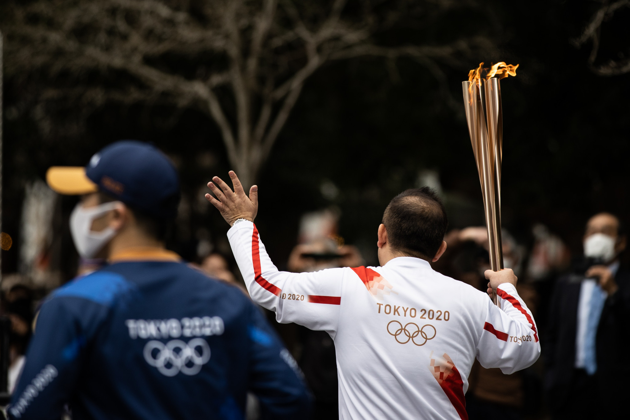 """Restart of Tokyo 2020 Torch Relay is """"great inspiration"""" says ANOC President Mitchell"""