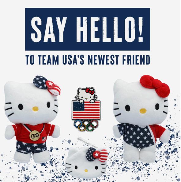 Team USA release Hello Kitty merchandise for Tokyo 2020