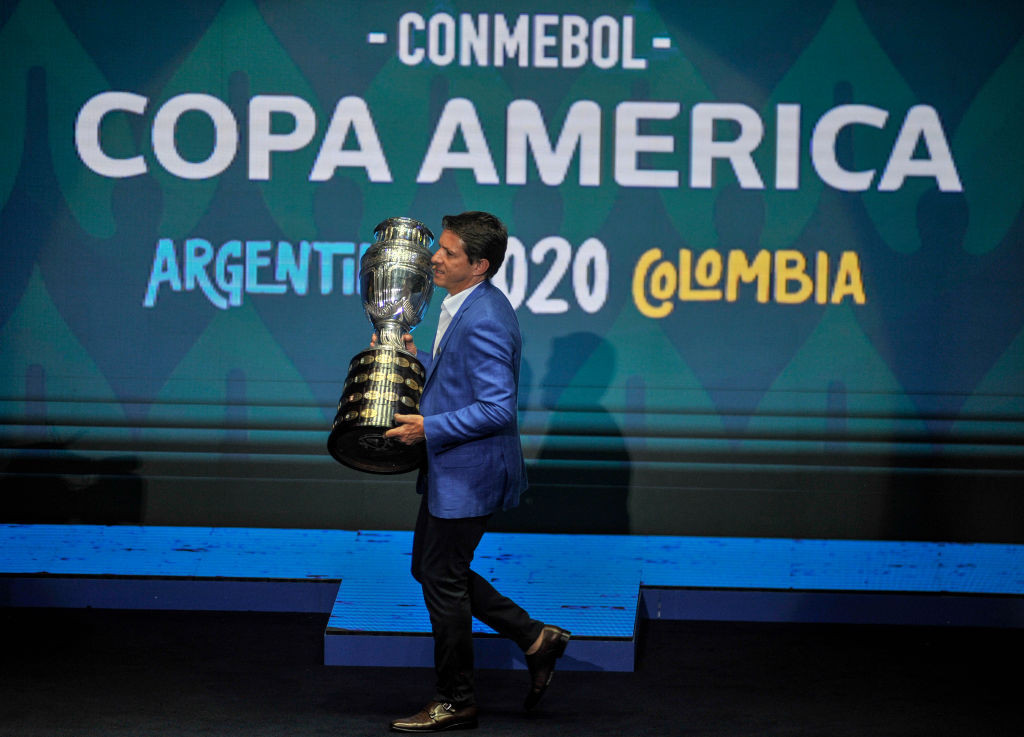 CONMEBOL is banking on this year's rearranged Copa América ©Getty Images