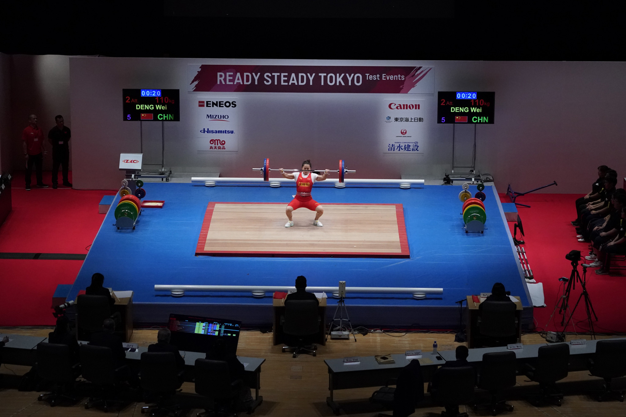 Russia can send only one female weightlifting and one male weightlifting to the Tokyo 2020 Olympics - where they will have to compete under an