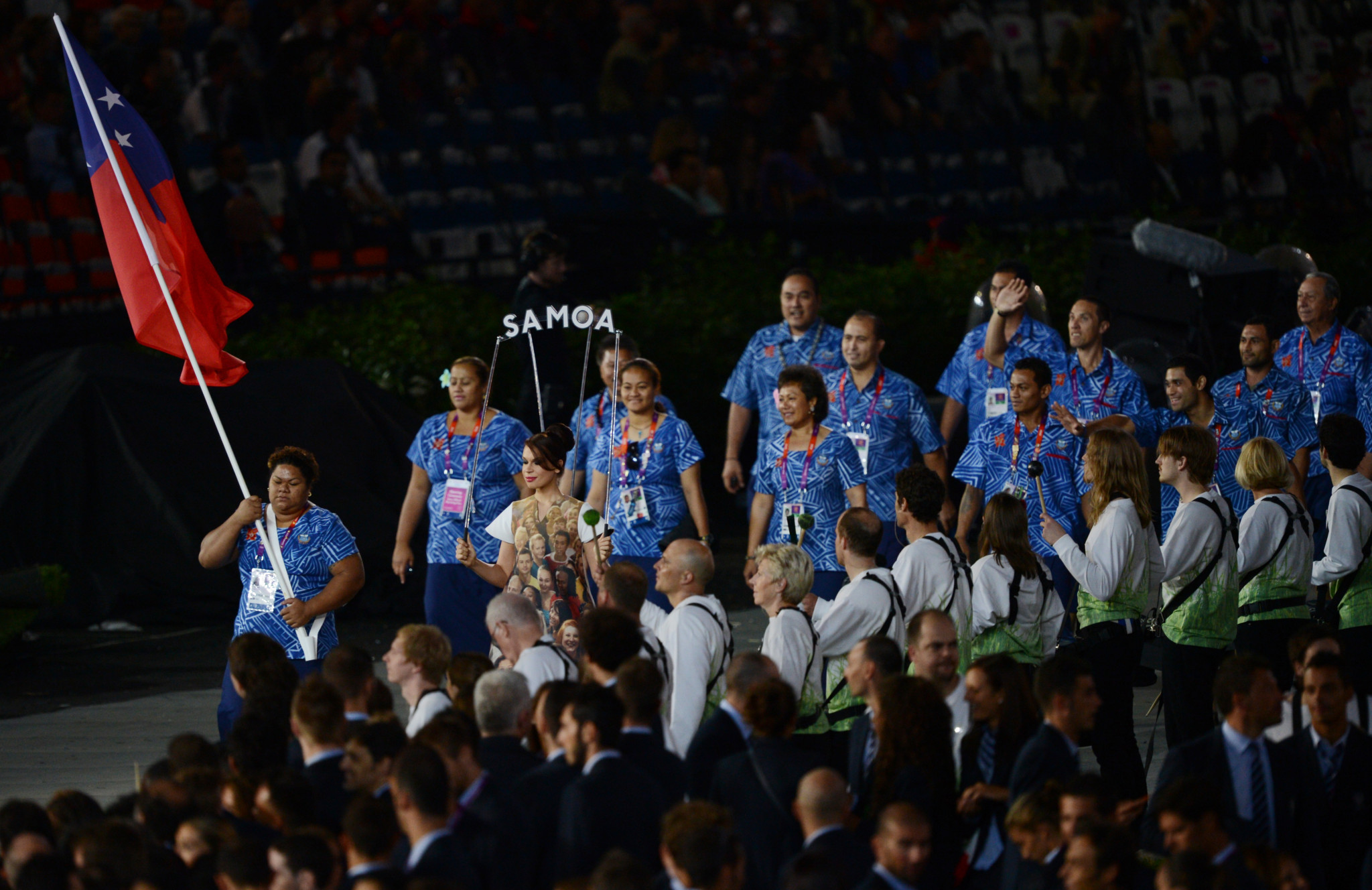 The Samoa Association of Sports and National Olympic Committee is taking steps to offset the carbon emissions associated with it taking part in this year's Olympics ©Getty Images