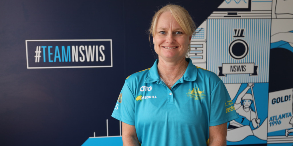 Katrina Powell has been appointed as the first female head coach of the women's Australian hockey team ©Hockey Australia