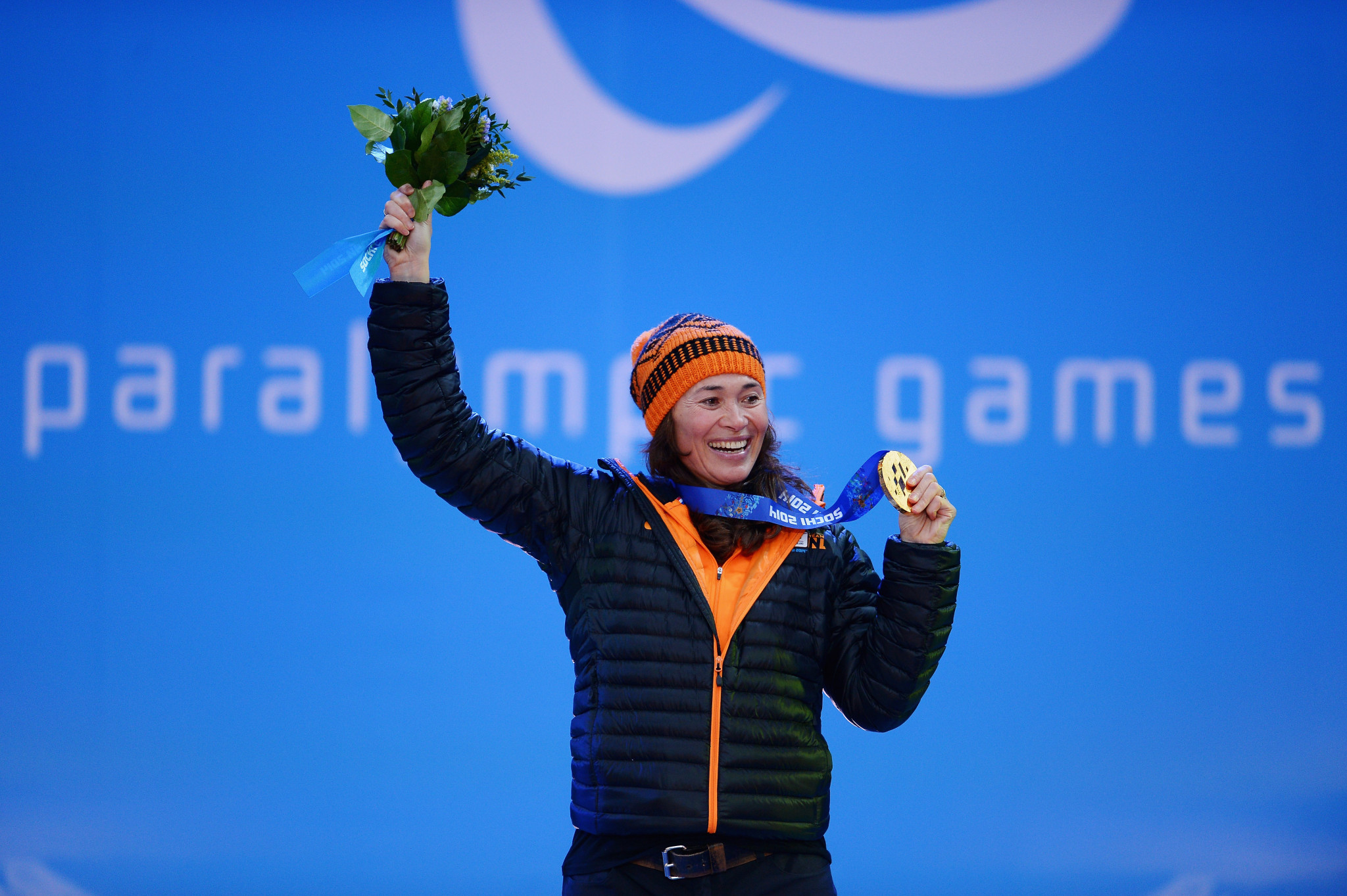 Bibian Mentel-Spee won two Paralympic gold medals at Pyeongchang 2018, despite undergoing cancer treatment ©Getty Images