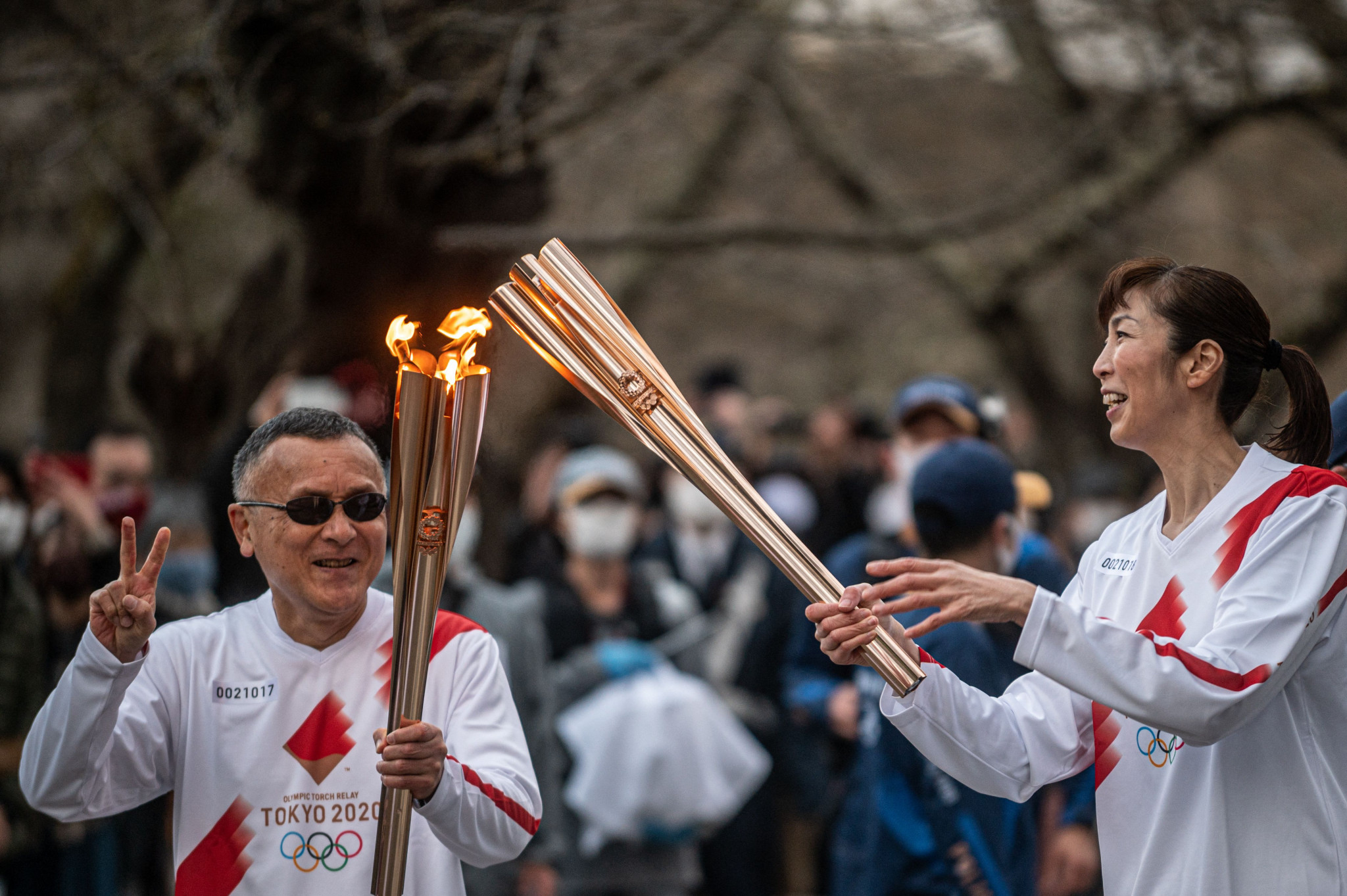 Torch Relay with a very different feel continues ahead of Tokyo 2020