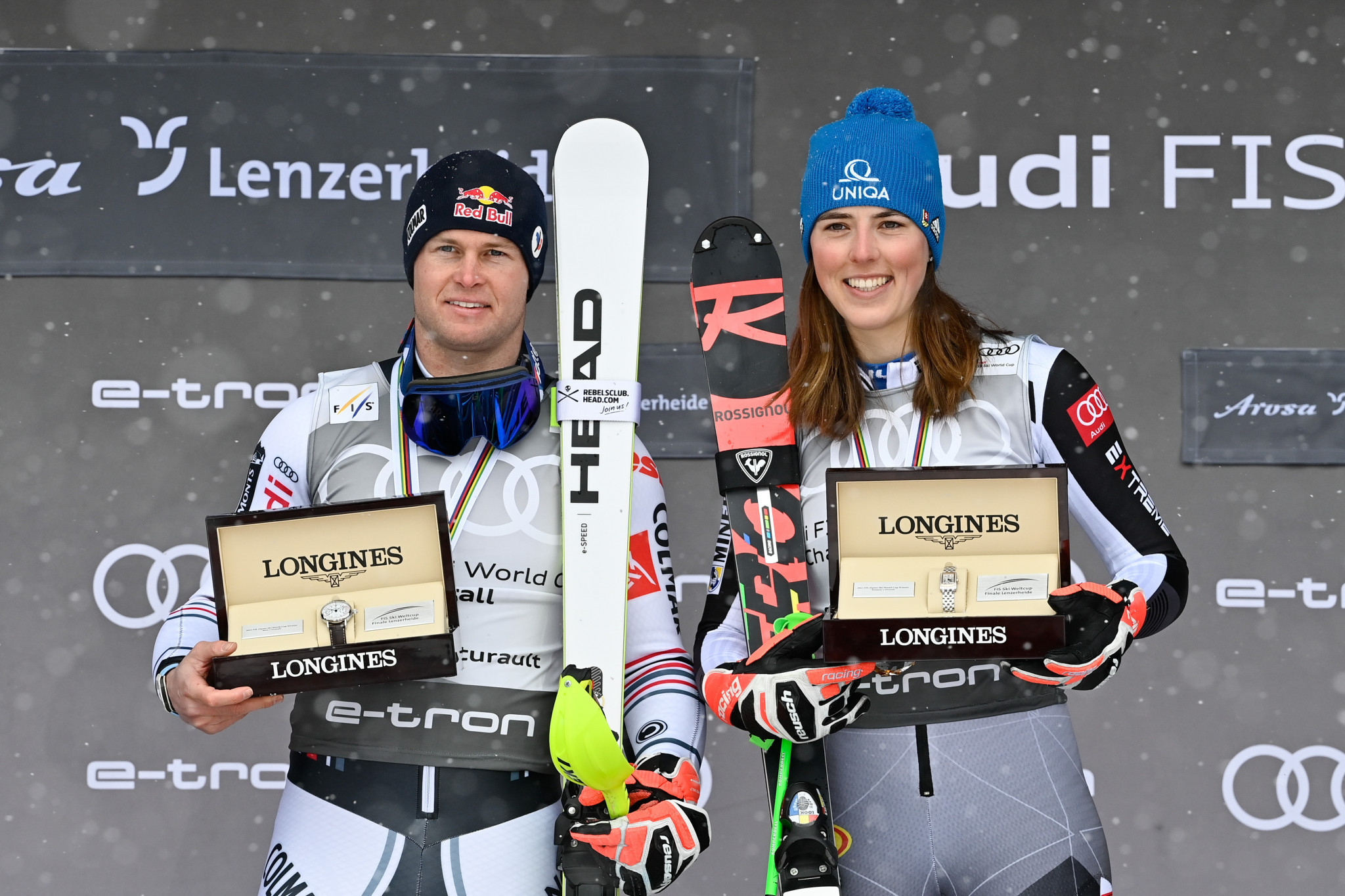 As part of the deal, Longines is expected to provide timing data at the Alpine World Ski Championships in 2023 and 2025 ©Getty Images