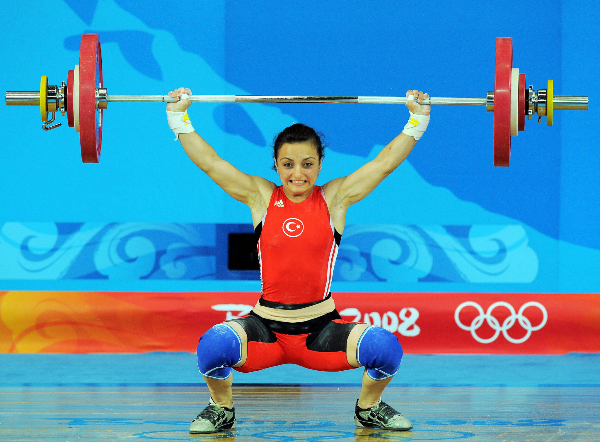 Turkish weightlifter Sibel Ozkan, who won silver at Beijing 2008 in the women's 48kg, is among the lifters from the country disqualified after competing at the Olympics ©Getty Images