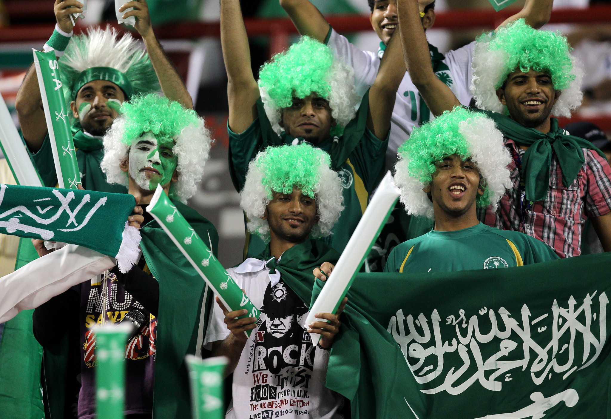 The Saudi Arabian Government has confirmed vaccinated fans will be allowed to attend sporting events from May 17  ©Getty Images