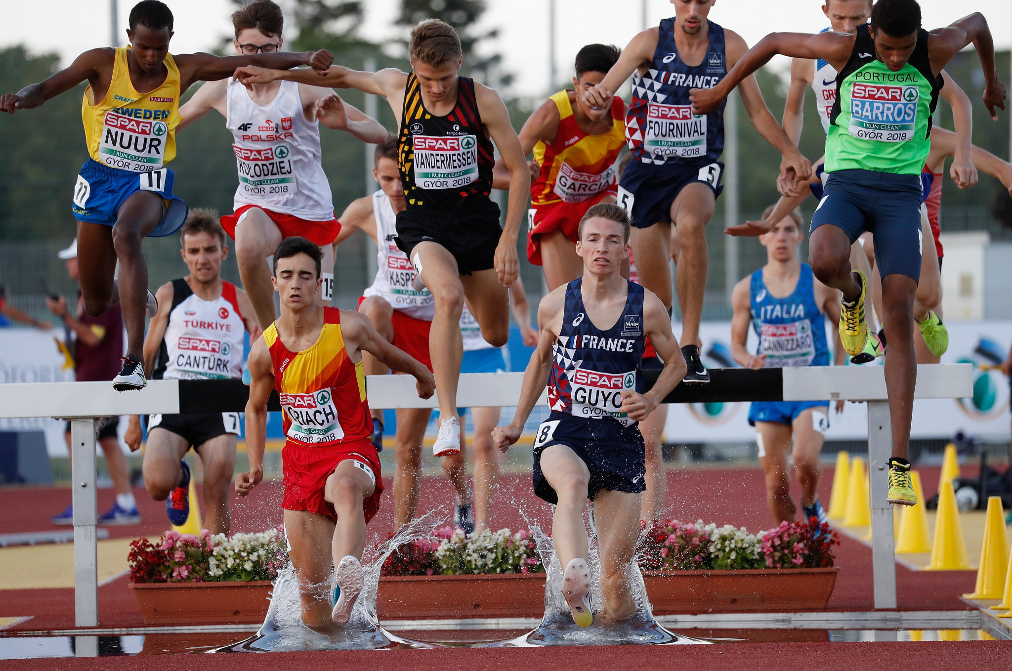 Győr hosted the second edition of the European Athletics Under-18 Championships in 2018 ©Getty Images