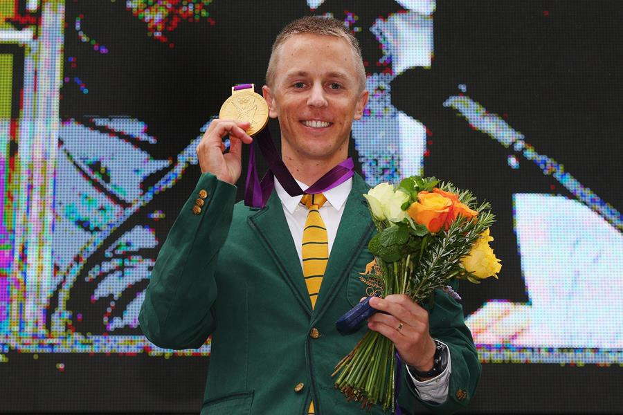 Jared Tallent was belatedly awarded the London 2012 Olympic gold medal in the 50km walk four years after the race when the original winner was disqualified for doping ©Getty Images