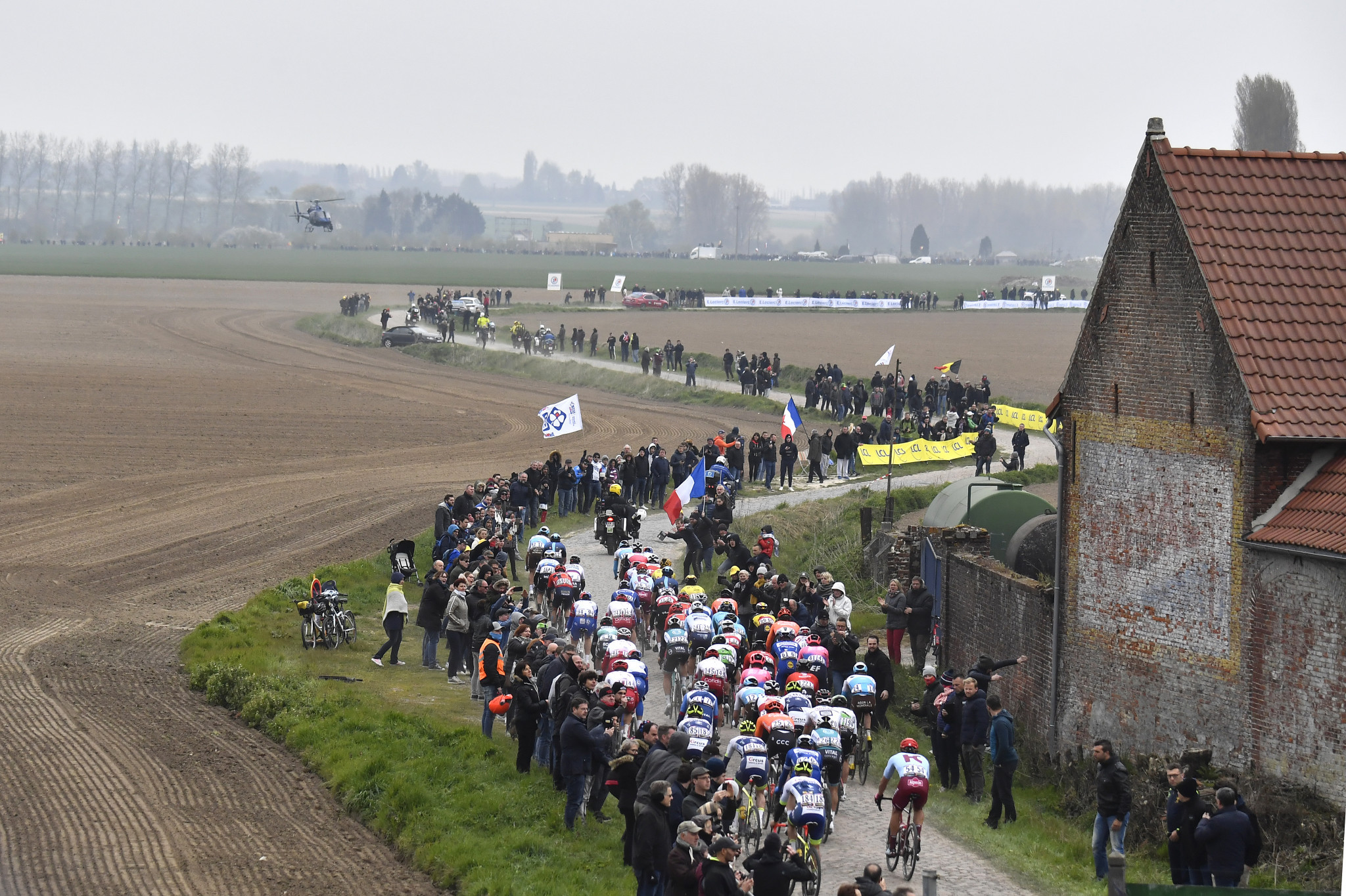 A women's Paris-Roubaix will be held for the first time ©Getty Images