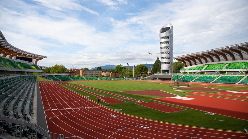 Hayward Field reopens for competition ahead of 2022 World Athletics Championships