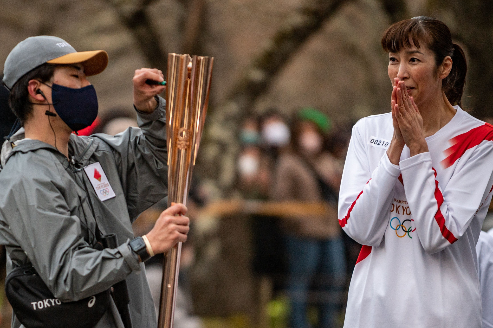Women will be allowed to take part in the Olympic Torch Relay leg in Aichi Prefecture which includes a traditional boat ride ©Getty Images