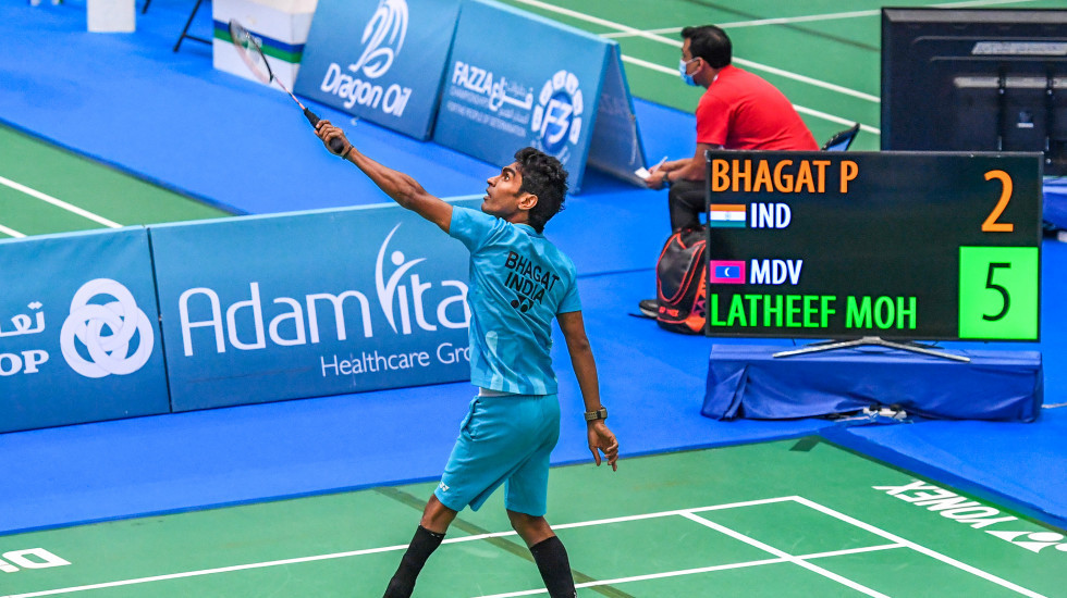 Finalists confirmed on penultimate day of the Dubai Para Badminton International