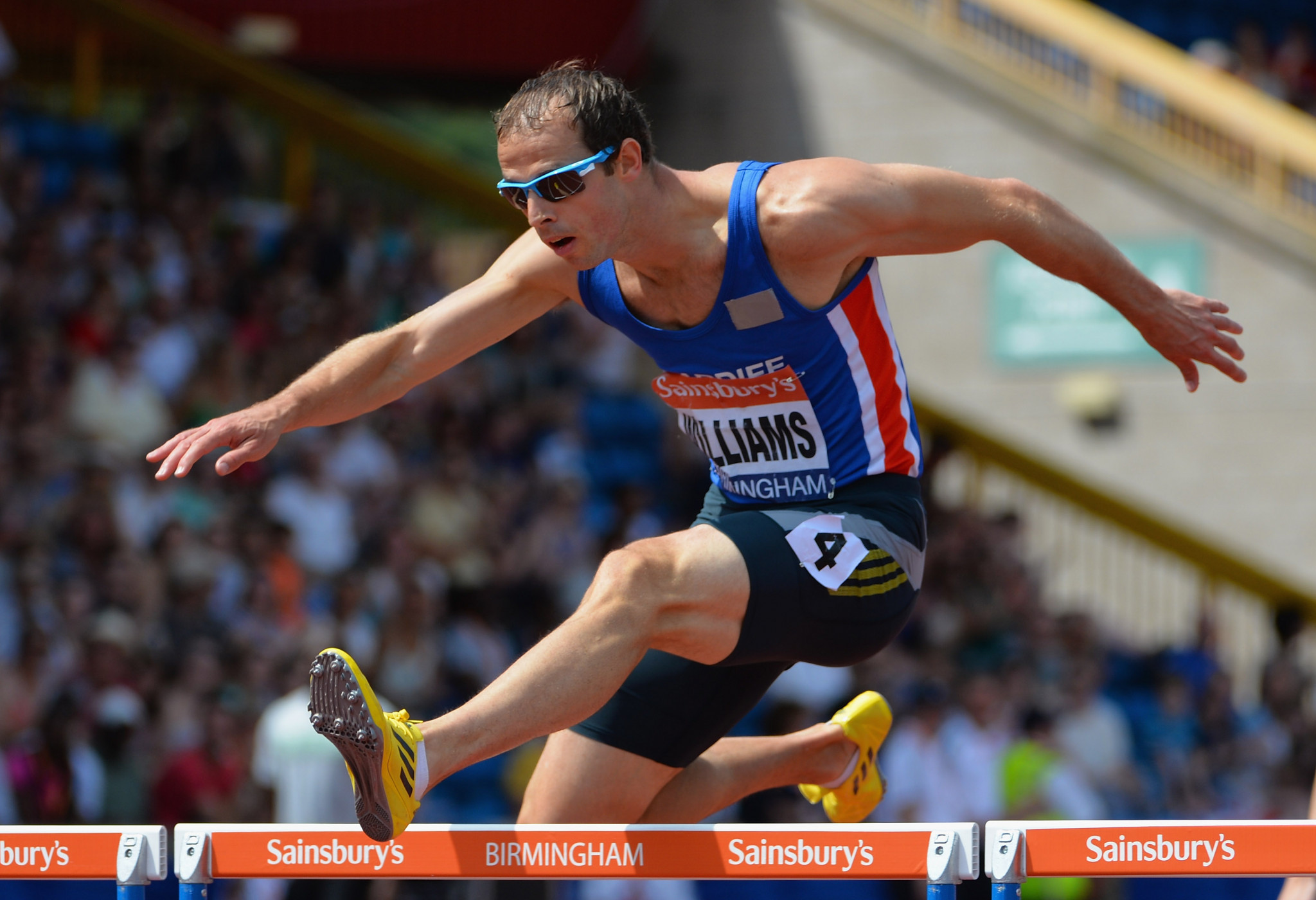Rhys Williams was one of two British athletes involved in the case ©Getty Images