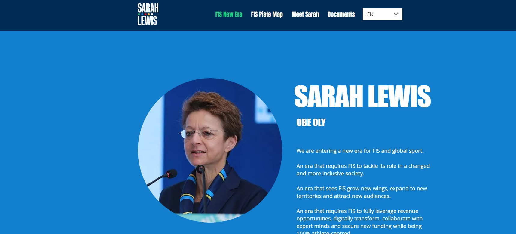 Sarah Lewis has today unveiled her manifesto and campaign website ©Sarah Lewis