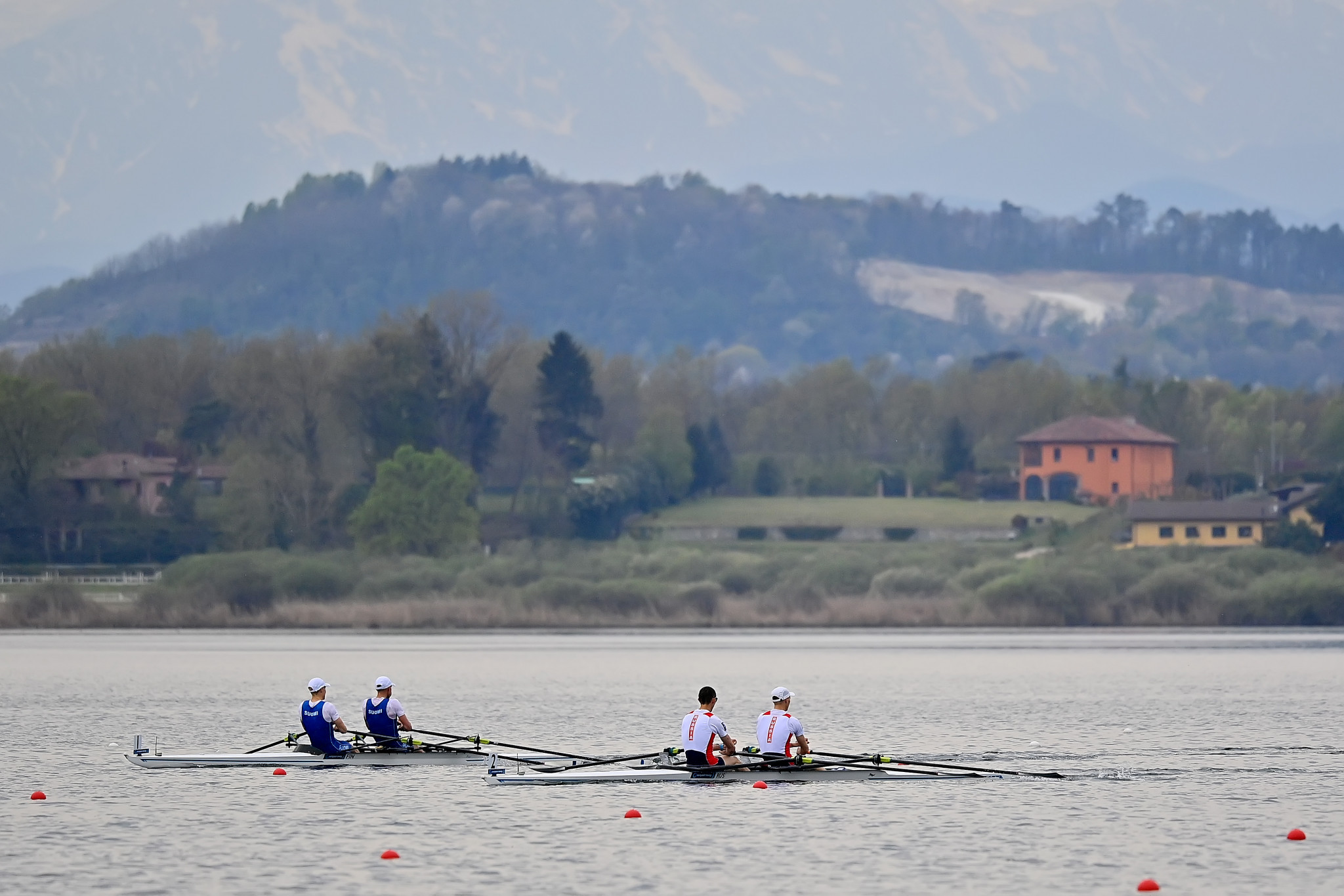 Strong winds postpone European rowing qualifier for Tokyo 2020 until Thursday