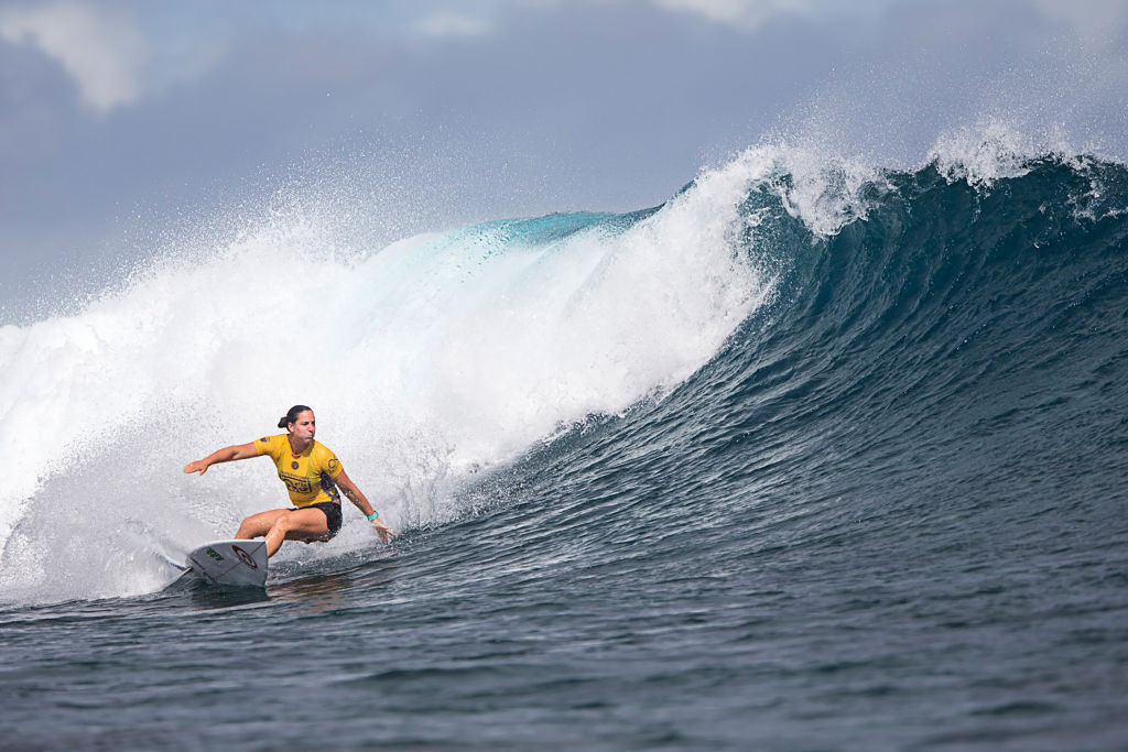 World number one Wright crashes out of World Surf League event in Newcastle