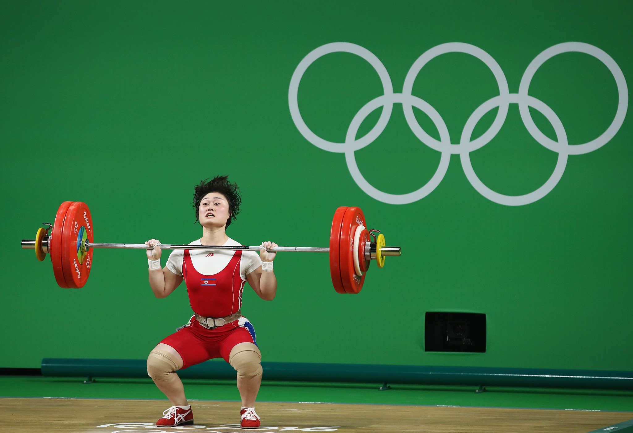 Choe Hyo-sim, a Rio 2016 silver medallist, is one of the leading North Korean weightlifters who had been expected to challenge for an Olympic title later this year ©Getty Images