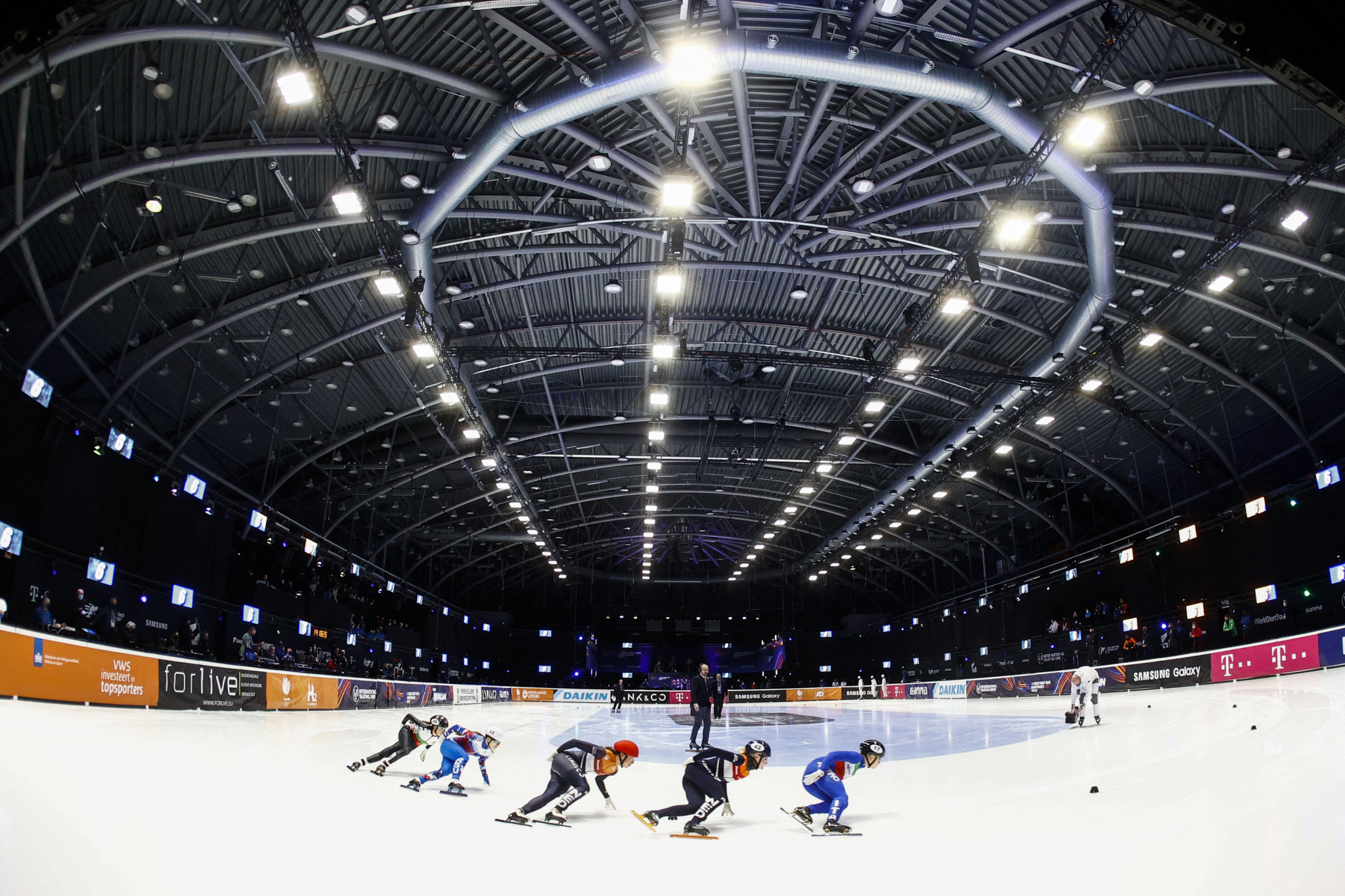 The International Skating Union has signed a four-season extension to its media rights deal with Infront ©Getty Images
