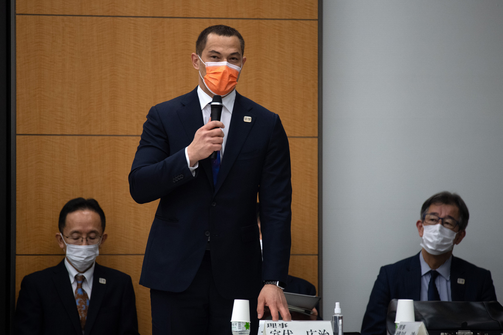 Koji Murofushi was appointed commissioner of the Japan Sports Agency last September ©Getty Images