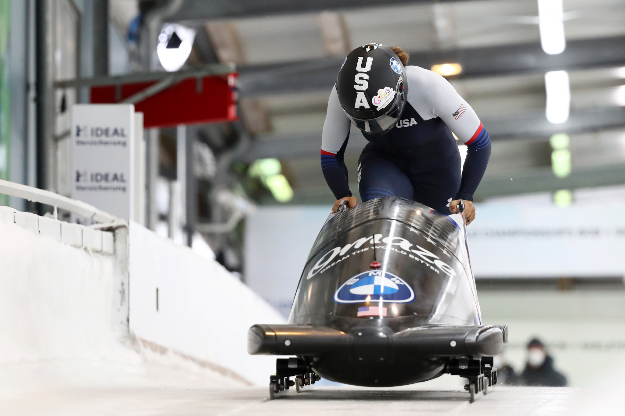 USA Bobsled and Skeleton is looking to find innovative ways to discover new talent ©Getty Images