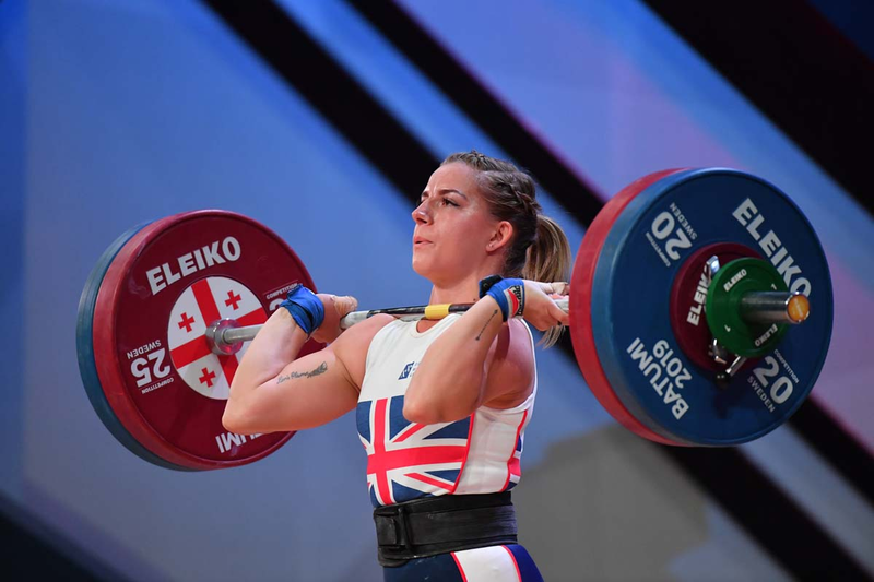 Bulgarian teenager smashes records and Britain win rare gold at European Weightlifting Championships