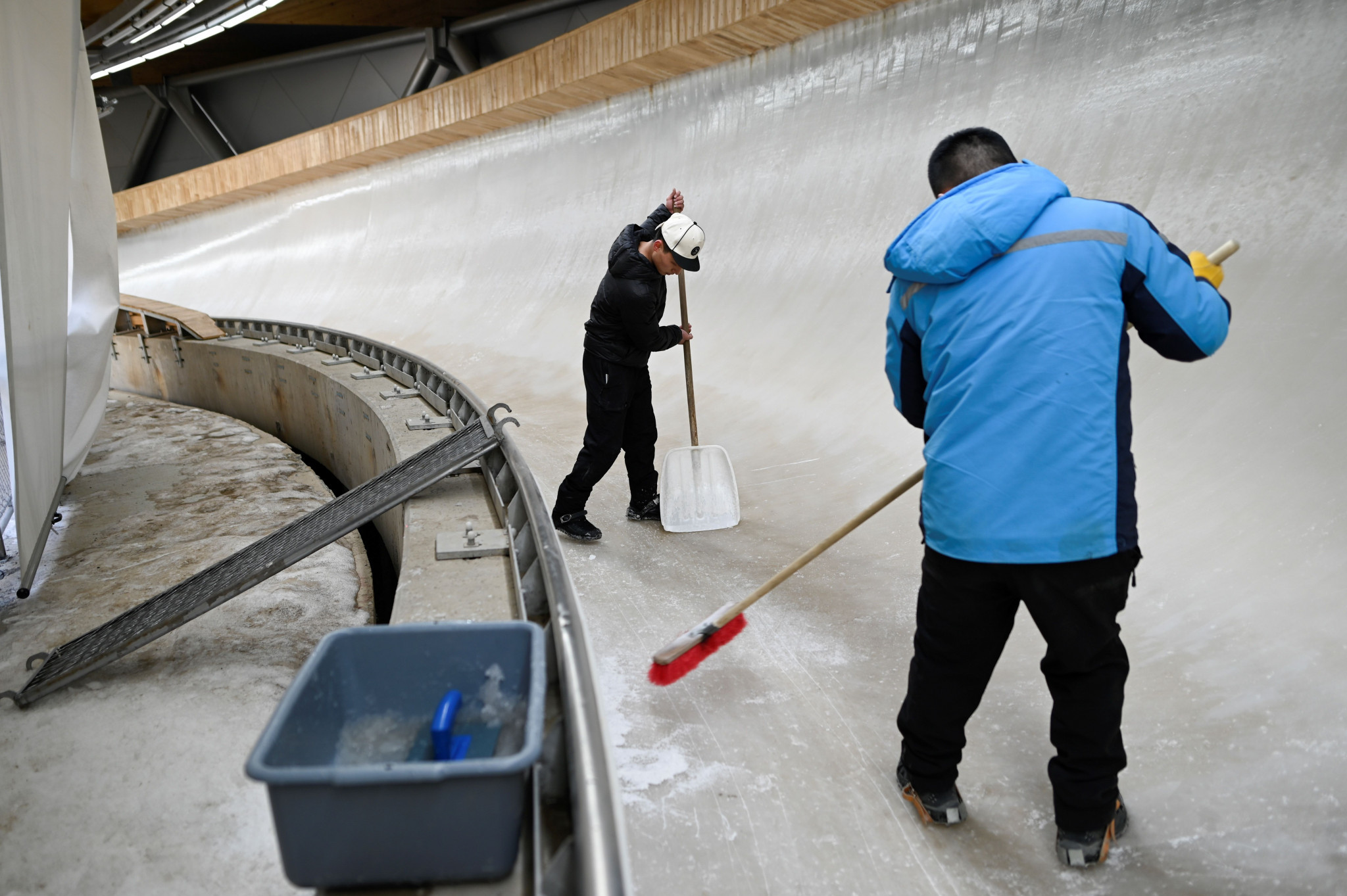 A new sliding track has been built for Beijing 2022 at Yanqing ©Getty Images