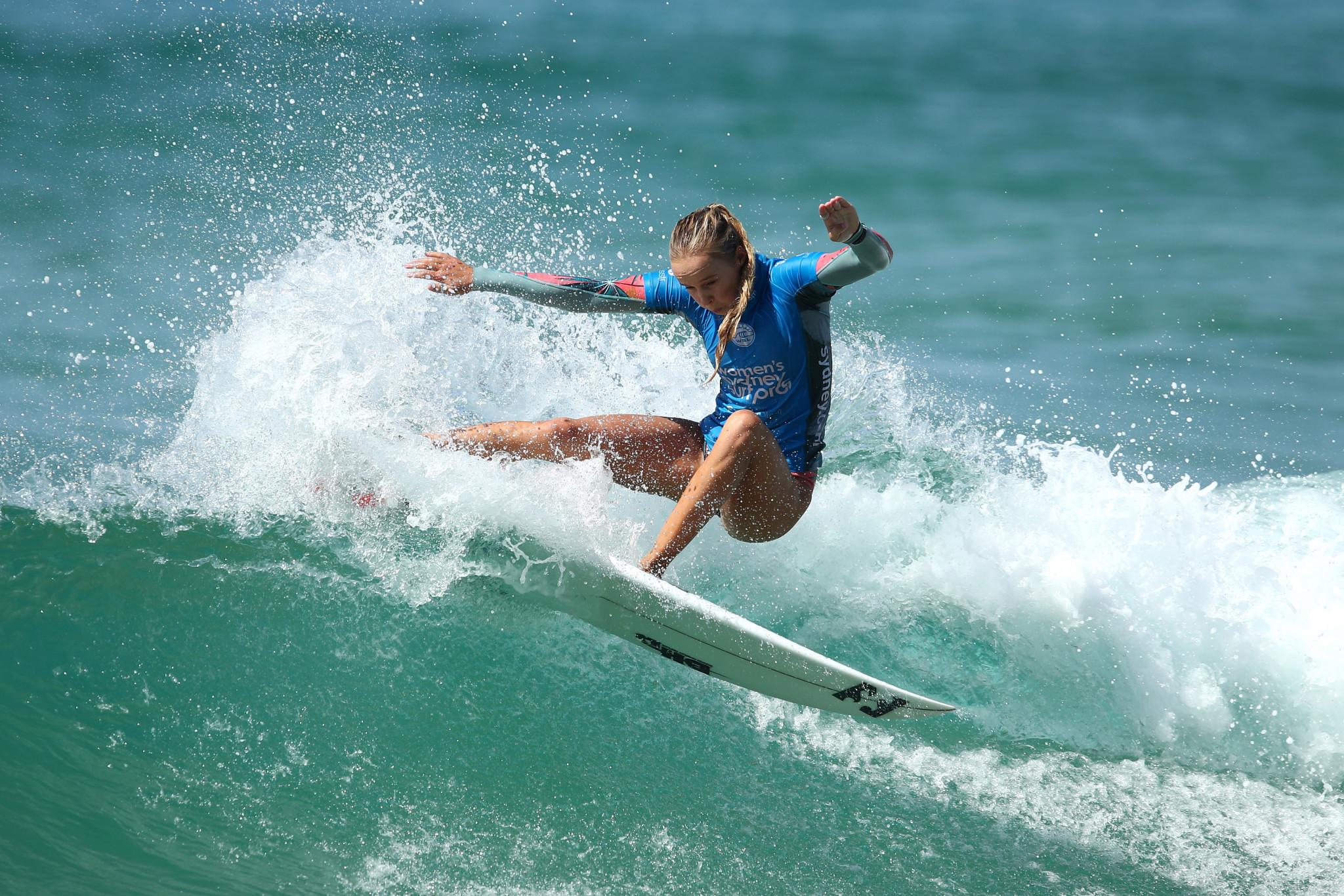 Nichols reaches maiden semi-final at World Surf League event in Newcastle