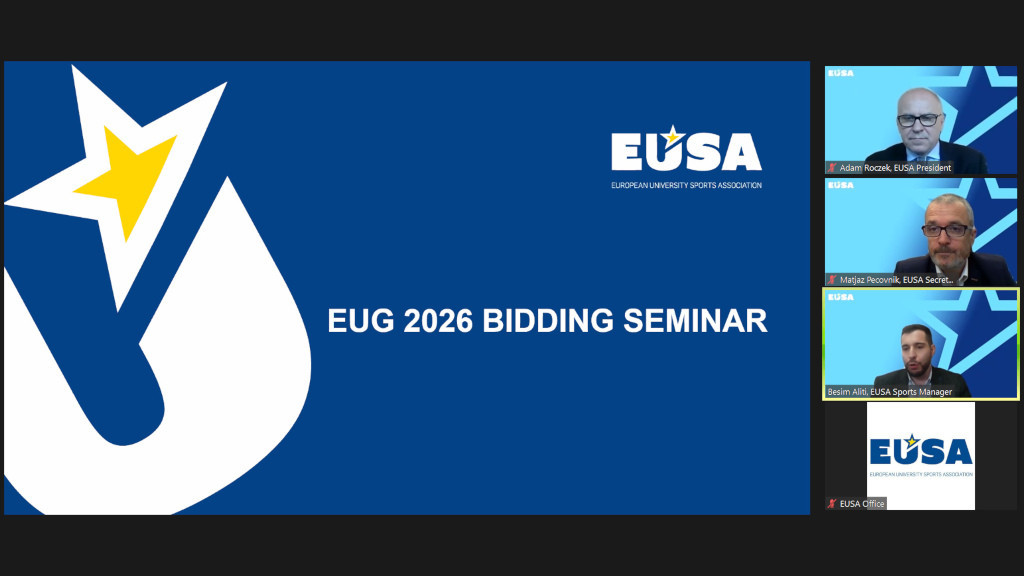 EUSA receive interest from 12 countries in hosting 2026 European Universities Games