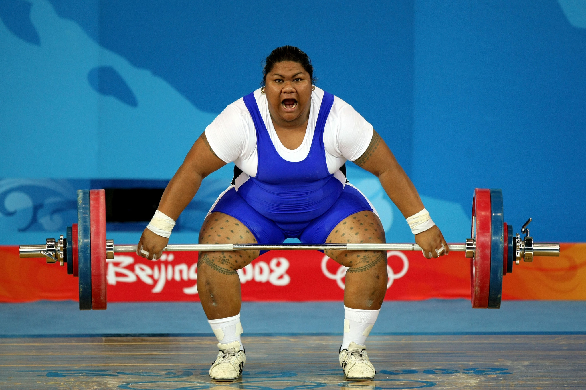 Ele Opeloge is Samoa's only Olympic medallist to date ©Getty Images