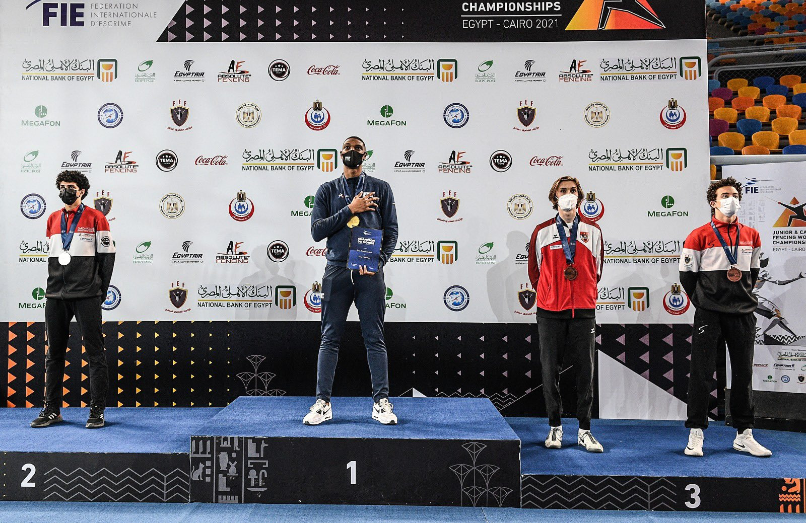 More Russian gold as junior épée titles awarded in Cairo