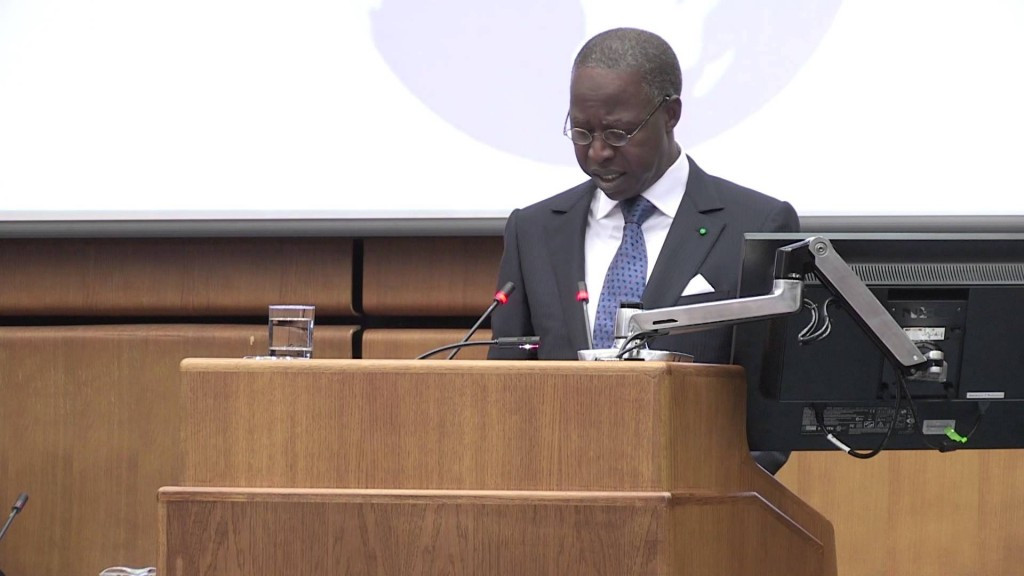 """Senegal's Prime Minister Mahammad Boun Abdallah has told France they will not extradite Papa Massata Diack, despite Interpol having issued a """"red notice"""" for his arrest ©YouTube"""