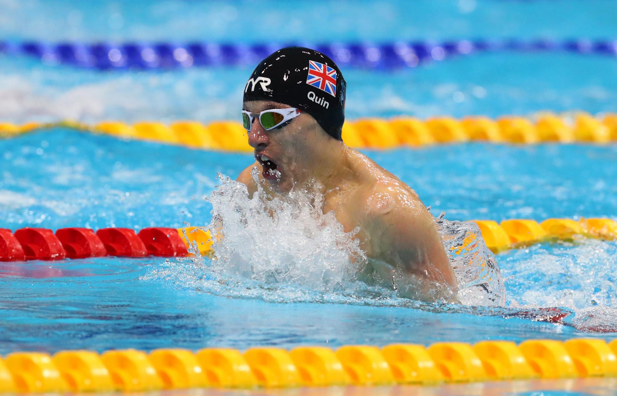 Two more wins for Moleman at Sheffield World Para Swimming World Series leg