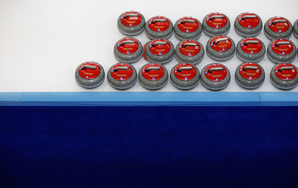 The World Curling Championship is on hold due to positive COVID-19 cases