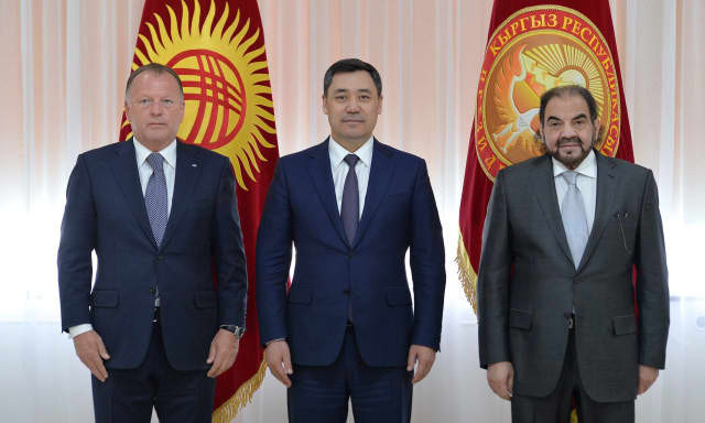 IJF President meets with Kyrgyzstan President during Asia-Oceania Championships